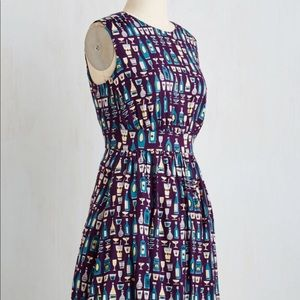 ModCloth Too Much Fun Dress in Happy Hour 1X